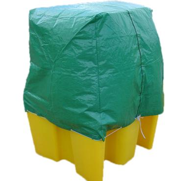 Flexible Rain Cover for 4 Drum Spill Pallet