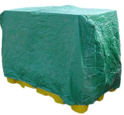 Flexible Cover for Double IBC Spill Pallet