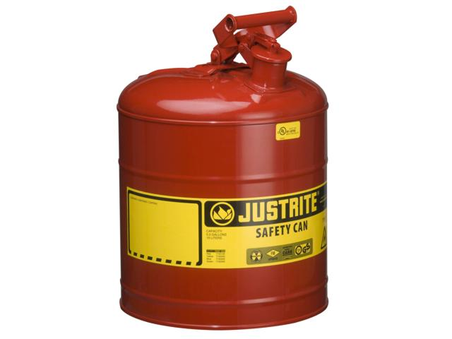 19 Litre Type 1 Steel Red Safety Can