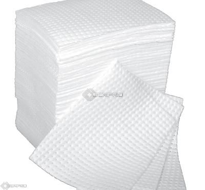 40 x 50cm Superweight Bonded Oil Only Absorbent Pads (pack 100)