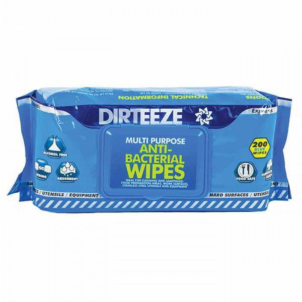 Dirteeze Surface Sanitising Wipes Flowpack 200