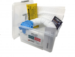 10 Litre Oil and Fuel Spill Kit in a Clip Top Case