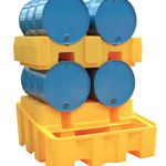4 Drum Bunded Rack Dispensing System (YELLOW)