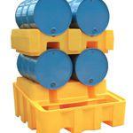 4 Drum Bunded Rack Dispensing System (YELLOW)
