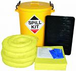90 Litre Chemical Spill Kit with Drip Tray