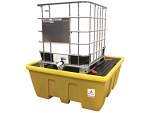 Low Profile Single IBC Containment Bund (YELLOW)