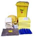 255 Litre Chemical/Universal Spill Kit in Wheeled Bin