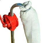 2 x Filter Sock Oil and Water Separator and Hand Pump