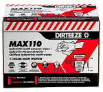 Dirteeze Max110 High Strength Multi Purpose Industrial Wipes Box 160