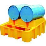 Bunded Drum Rack Dispensing System (YELLOW)